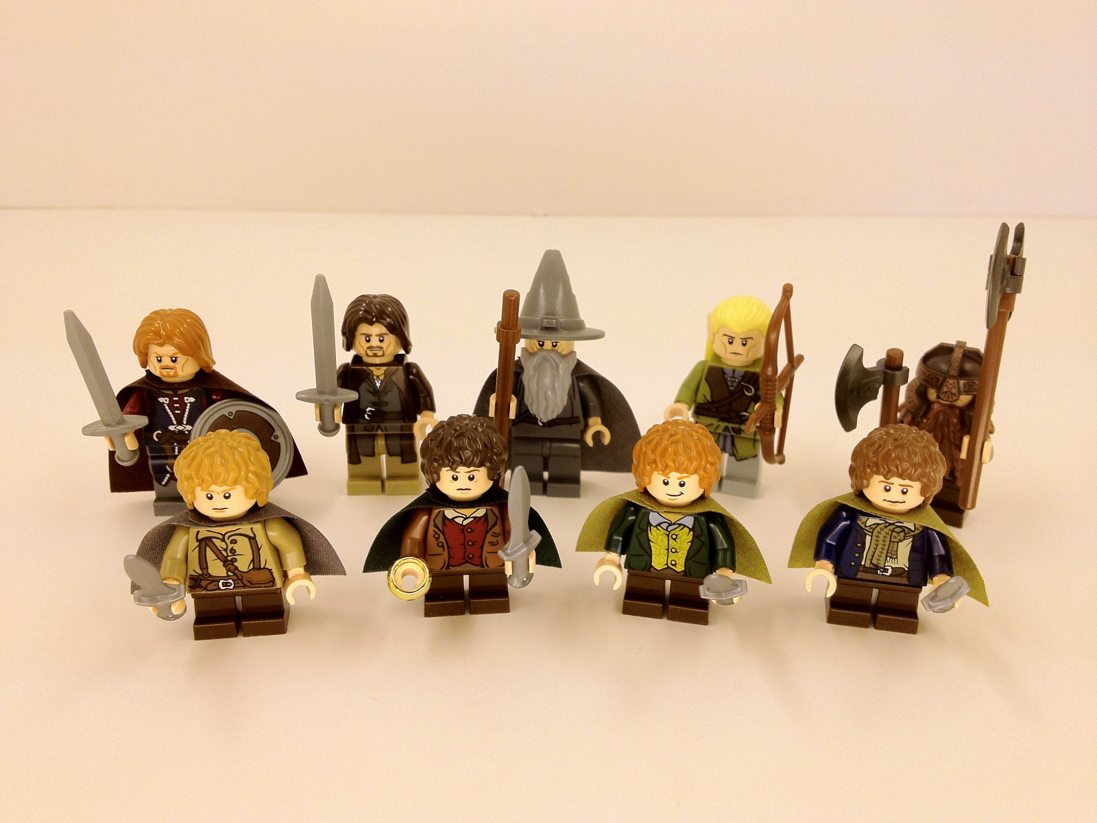 LEGO Lord of the Rings Game and Toys  : legofellowship from skillpointstation.com size 1600 x 1200 jpeg 415kB